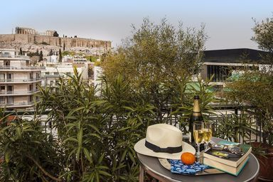 Phillippos Hotel_Terrace_Room_701_Acropolis view